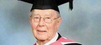 پیرترین دانشجوی جهان – 93 ساله !