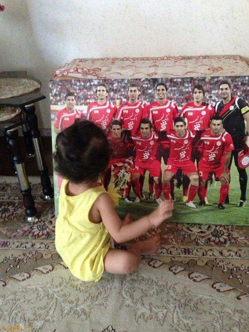 دختر هادی نوروزی دلش هوای پدر کرده