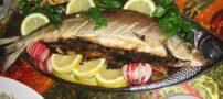 بهترین طرز تهیه ماهی سفید شکم پر برای شب عید
