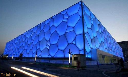 معرفی مرکز شنا و بازیهای آبی پکن + تصاویر