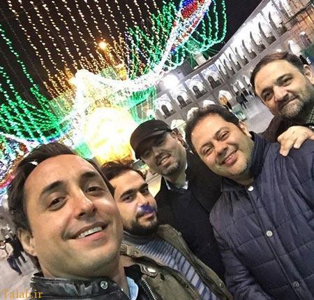 گریم متفاوت امیرحسین رستمی بازیگر جذاب ایرانی