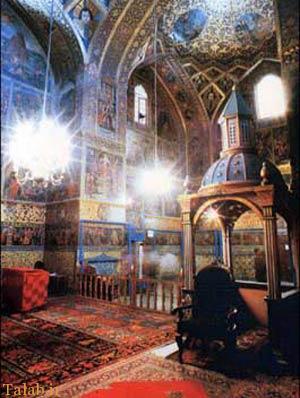 آشنایی با کلیسای هاکوپ و کلیسای مریم مقدس اصفهان