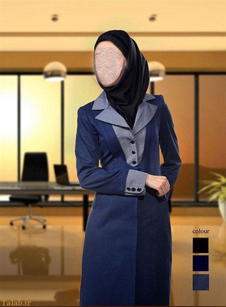 مدل مانتو اداری شیک ایرانی