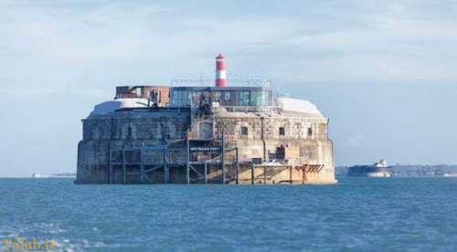 جزیره ای جالب شخصی که هتل 5 ستاره شد + عکس