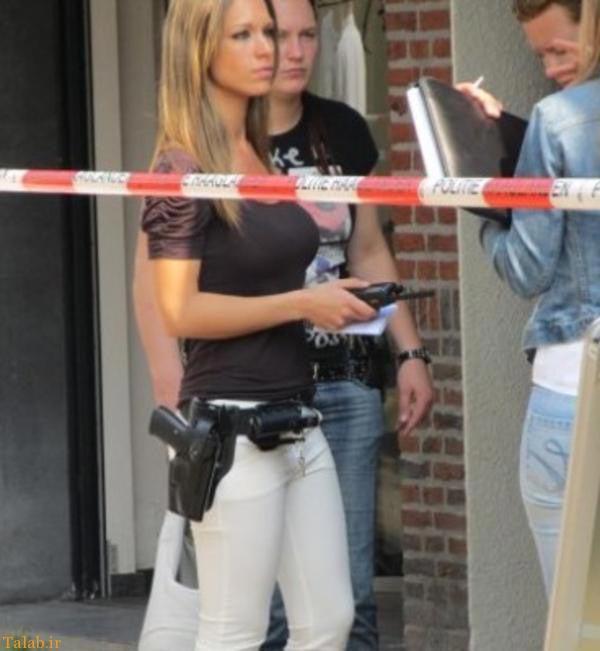 عکس افسران پلیس زن زیبا در برخی کشورهای جهان
