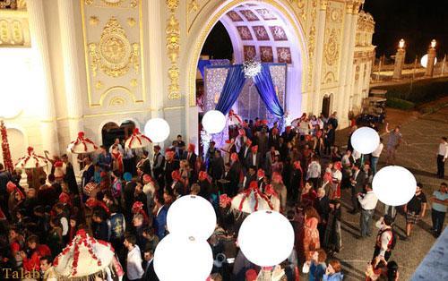 پرهزینه ترین مراسم عروسی زوج هندی (+عکس)
