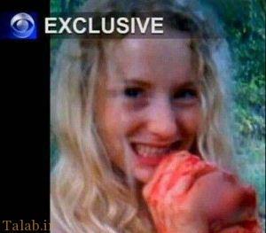 عشق بازی عجیب دختر جوان با اسب مرده !+ عکس