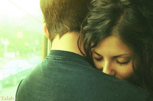 اس ام اس عاشقانه و جدید در آغوش گرفتن