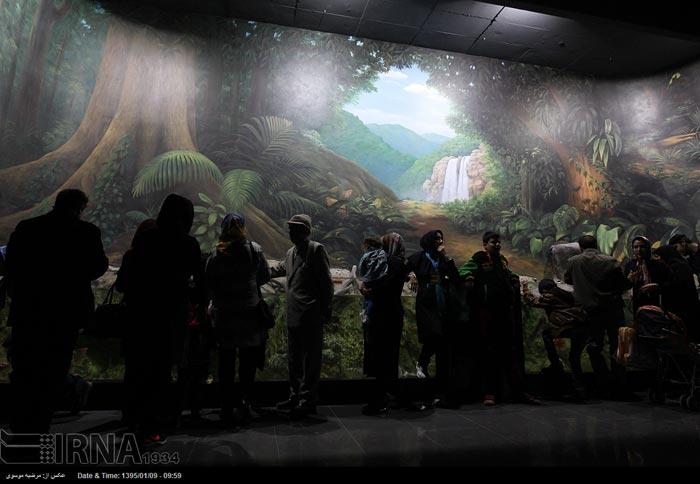 عکس های دیدنی از تونل آکواریوم اصفهان
