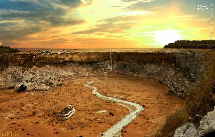 عکس هایی دیدنی از دوران خشکسالی زمین