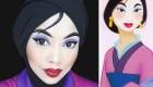 عکس گریم های زیبا و دیدنی شبیه شخصیت های کارتونی