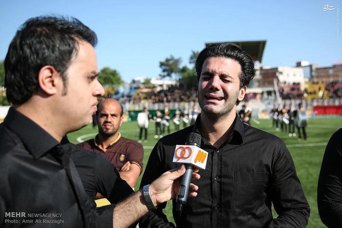 گزارش تصویری از تشییع پیکر مهرداد اولادی