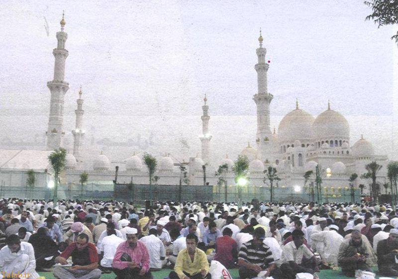 در این مسجد شما محو معماریش خواهید شد + عکس