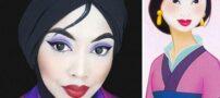 عکسهایی دیدنی از گریم شبیه به شخصیت های کارتونی