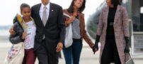 هدیه جالب مسی برای دختران اوباما + عکس