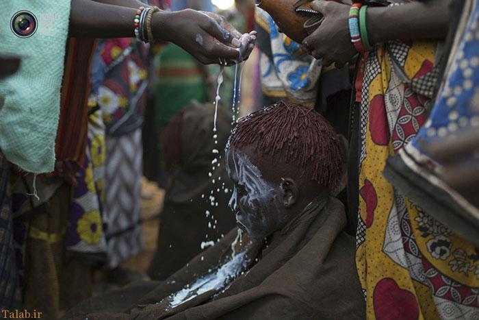 عکس های عجیب ختنه کردن دختران جوان در کنیا