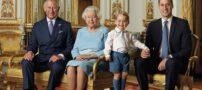 عکس ملکه الیزابت در سن 90 سالگی