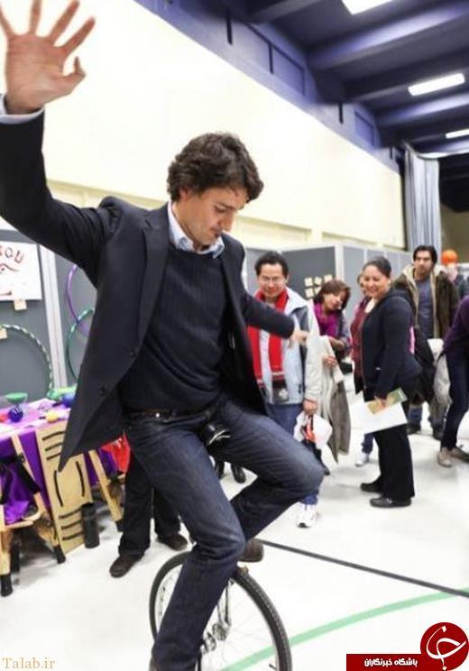 ورزشکارترین سیاستمدار جوان دنیا + عکس