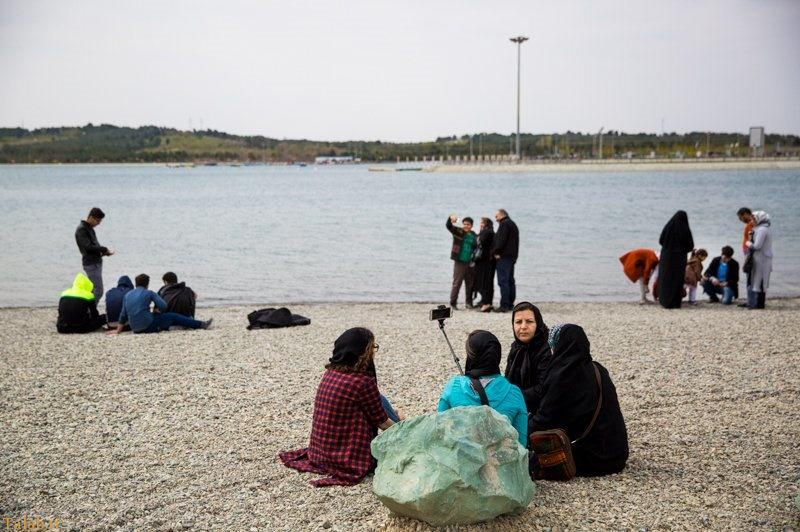 عکس دیدنی از بزرگترین دریاچه مصنوعی ایران در تهران