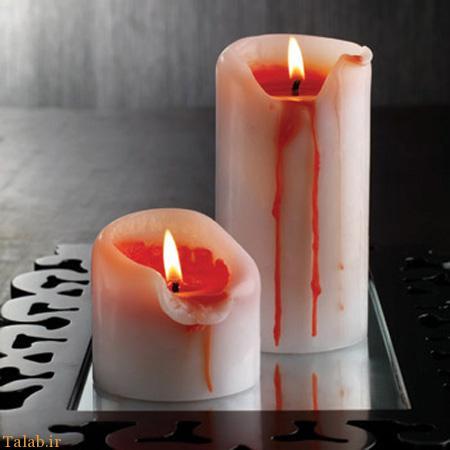 عکس های جالب از طرح های خلاقانه زیبا از شمع
