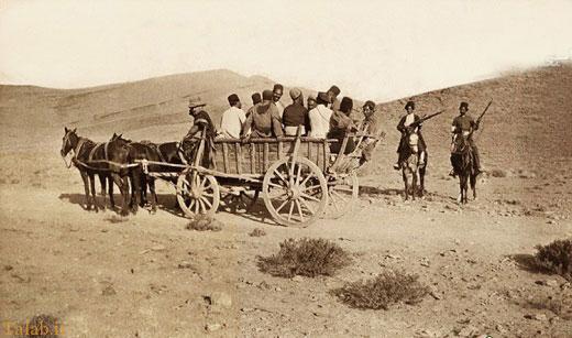 پلیس راه در زمان قاجار + عکس