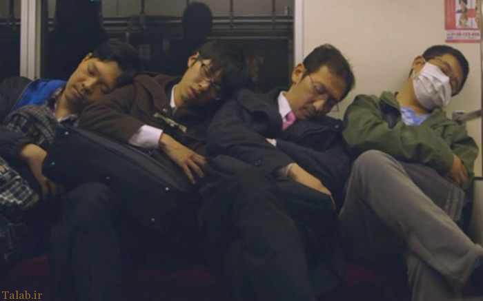 عکس های دیدنی از خواب ناز در شرایط سخت