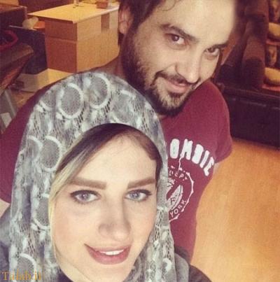 سلفی جدید مهدی سلوکی و همسرش + عکس