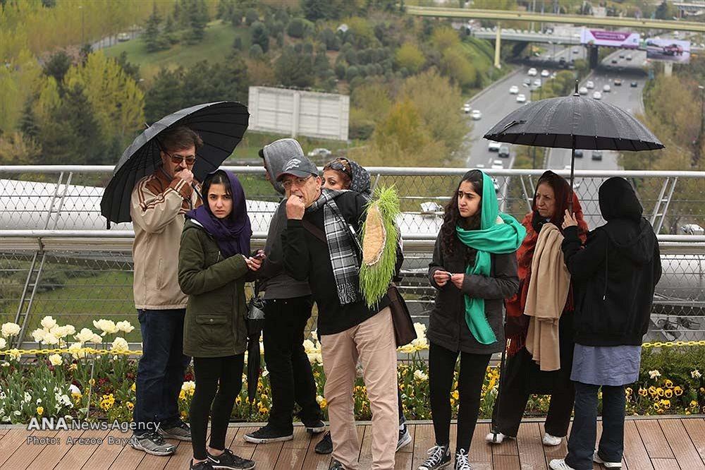 تصاویری از سیزده بدر روز طبیعت در تهران