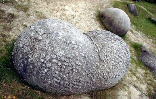 سنگ های عجیبی که رشد میکنند + عکس