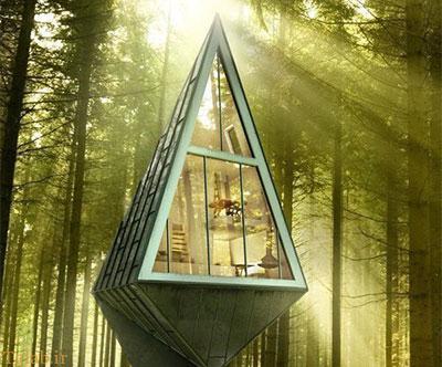 طراحی جالب خانه هایی برای زندگی در طبیعت + عکس