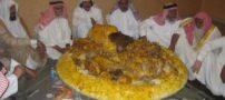 اینم از غذا خوردن عرب ها در داخل هواپیما + عکس