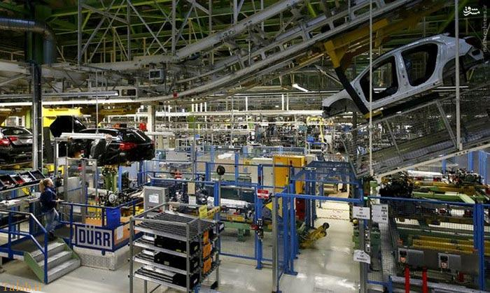 عکس هایی از کارخانه مرسدس بنز آلمان