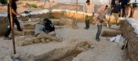 تصاویری از کشف قبرستانی هفت هزار ساله در بهبهان
