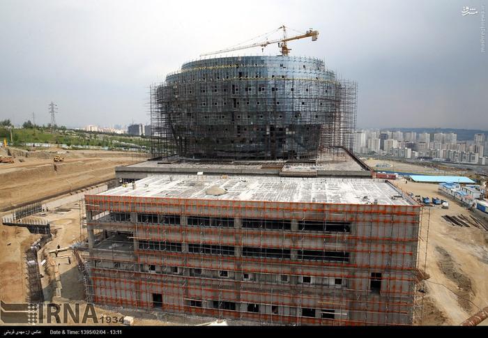 ساخت بزرگترین بیمارستان مغز و اعصاب جهان در ایران + عکس