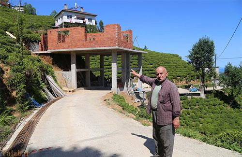 خانه این مرد ترکیه ای بر روی جاده (+عکس)