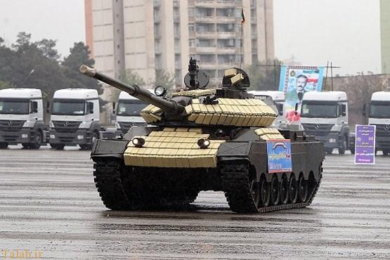 تیام تانک پیشرفته ایرانی (+عکس)