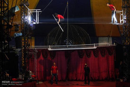 سیرک جالب بدون حیوان در تهران + عکس