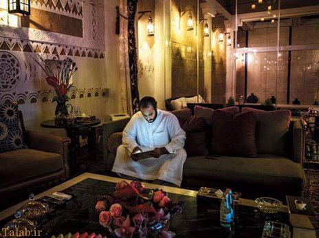 دفتر کار پسر جوان پادشاه سعودی + عکس