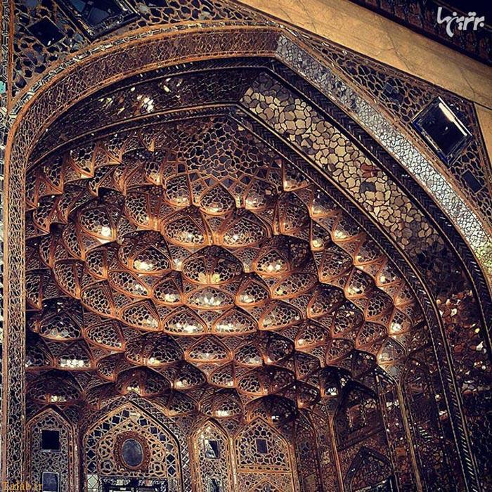 عکس های دیدنی از معماری مساجد در ایران