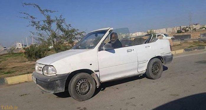 اینم از پراید کروک در ایران (+عکس)