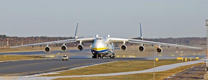 بزرگترین و سنگین ترین هواپیمای ترابری جهان (عکس)