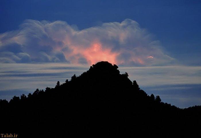 عکس هایی از اطلسی نایاب و دیدنی از ابرهای عجیب