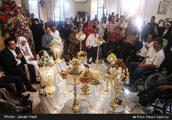 عکسهای مراسم ازدواج حسینی بای خبرنگار صدا و سیما