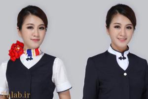 تمرینات سخت به زنان مهماندار هواپیما در چین (عکس)
