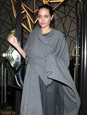 علت لاغری و ضعیف شدن آنجلینا جولی (عکس)