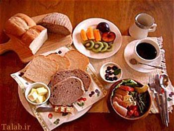 نکته های مهم تغذیه در افطاری