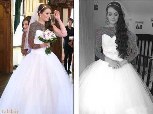 عروسی چاق 32 کیلو وزن کم کرد (عکس)