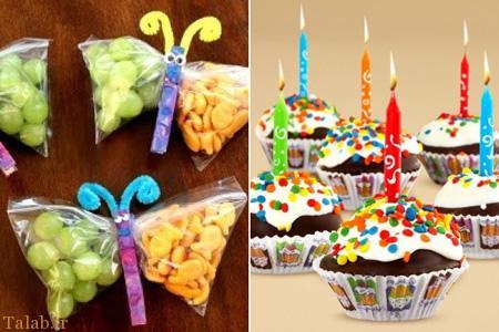 عکس هایی دیدنی از تزیین خوراکی جشن تولد