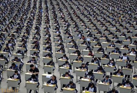شلوغی در پرجمعیت ترین کشور جهان (عکس)