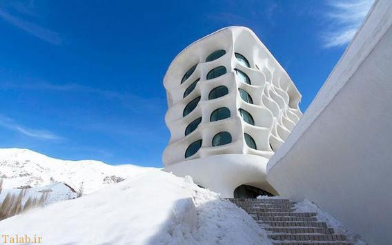 جالبترین هتل کوهی ایران در شمشک (+عکس)